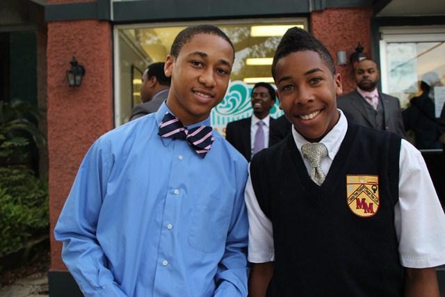 Black teen men